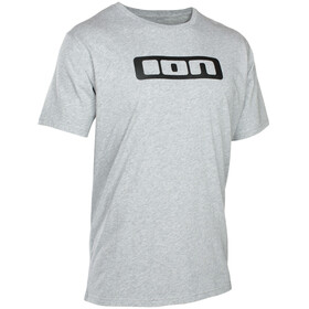 ION Logo Tee SS Men grey melange
